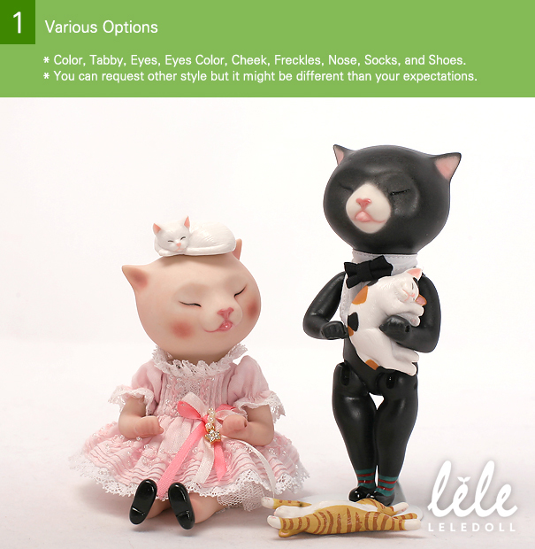 doll arttoy bisque bjd pocelain sheep cat Monica leledoll leejaeyeon